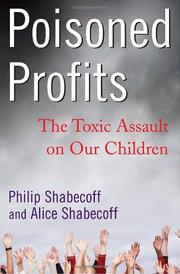 POISONED PROFITS by Philip Shabecoff