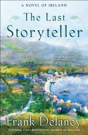 THE LAST STORYTELLER by Frank Delaney