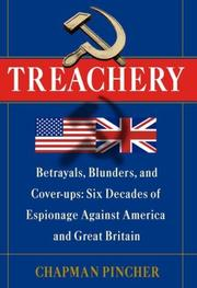 TREACHERY by Chapman Pincher