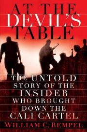 Cover art for AT THE DEVIL'S TABLE