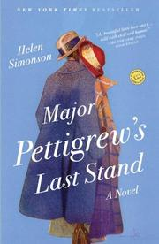 Cover art for MAJOR PETTIGREW'S LAST STAND