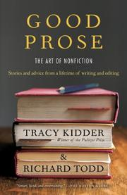 Cover art for GOOD PROSE