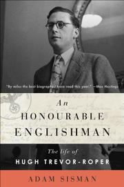 Cover art for AN HONOURABLE ENGLISHMAN