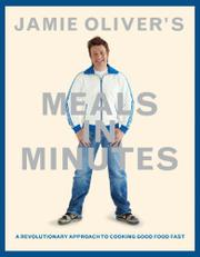 Book Cover for JAMIE OLIVER'S MEALS IN MINUTES