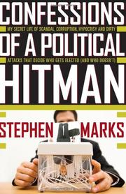 Cover art for CONFESSIONS OF A POLITICAL HITMAN