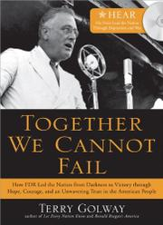 Cover art for TOGETHER WE CANNOT FAIL