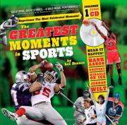 Cover art for THE GREATEST MOMENTS IN SPORTS