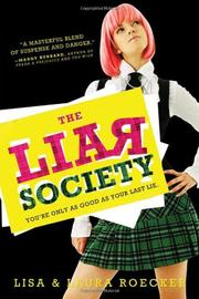 Cover art for THE LIAR SOCIETY