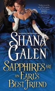 SAPPHIRES ARE AN EARL'S BEST FRIEND by Shana Galen