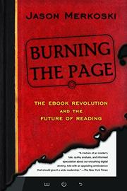 BURNING THE PAGE by Jason Merkoski