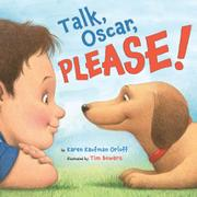 TALK, OSCAR, PLEASE! by Karen Kaufman Orloff