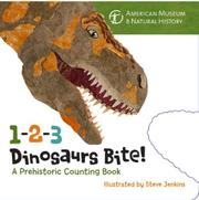 Book Cover for 1-2-3 DINOSAURS BITE!