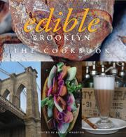Book Cover for EDIBLE BROOKLYN