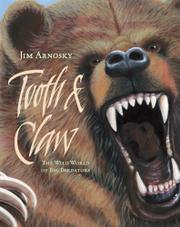 TOOTH & CLAW by Jim Arnosky
