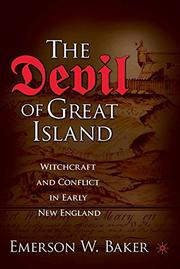 THE DEVIL OF GREAT ISLAND by Emerson W. Baker