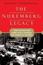 THE NUREMBERG LEGACY by Norbert Ehrenfreund