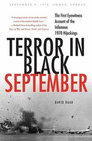 Cover art for TERROR IN BLACK SEPTEMBER