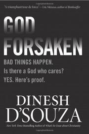 GODFORSAKEN by Dinesh D'Souza
