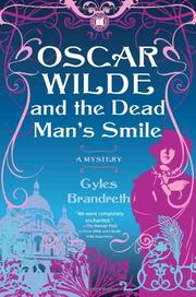Book Cover for OSCAR WILDE AND THE DEAD MAN'S SMILE