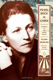 Book Cover for PEARL BUCK IN CHINA
