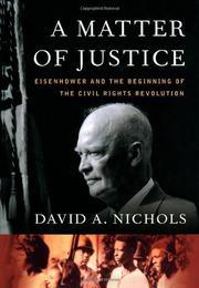 A MATTER OF JUSTICE by David A. Nichols