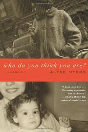 Cover art for WHO DO YOU THINK YOU ARE?