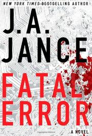 FATAL ERROR by J.A. Jance