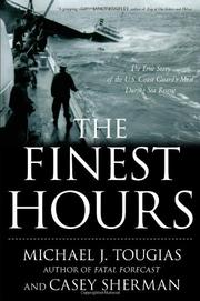 THE FINEST HOURS by Michael Tougias