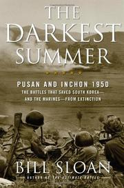 Cover art for THE DARKEST SUMMER