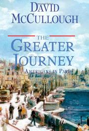 Book Cover for THE GREATER JOURNEY