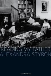 Cover art for READING MY FATHER