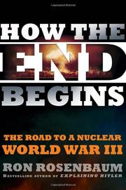 Book Cover for HOW THE END BEGINS