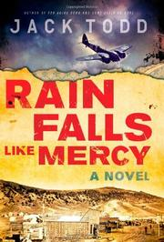Cover art for RAIN FALLS LIKE MERCY