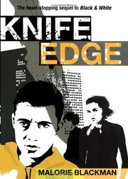 KNIFE EDGE by Malorie Blackman