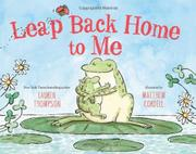 Book Cover for LEAP BACK HOME TO ME