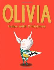 Cover art for OLIVIA HELPS WITH CHRISTMAS