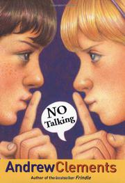 NO TALKING by Andrew Clements