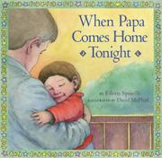 Cover art for WHEN PAPA COMES HOME TONIGHT