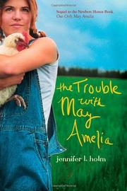 Cover art for THE TROUBLE WITH MAY AMELIA