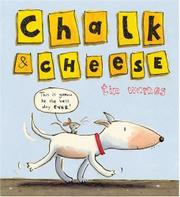 Book Cover for CHALK & CHEESE