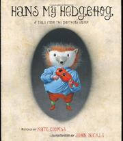HANS MY HEDGEHOG by Kate Coombs
