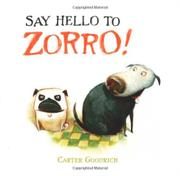 Book Cover for SAY HELLO TO ZORRO!