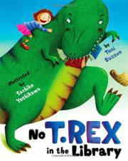Cover art for NO T. REX IN THE LIBRARY