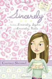 Book Cover for SINCERELY