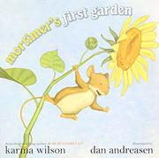 Cover art for MORTIMER'S FIRST GARDEN