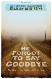 Book Cover for HE FORGOT TO SAY GOODBYE
