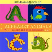 Cover art for ALPHABET ANIMALS