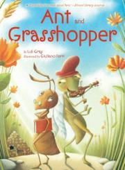 Cover art for ANT AND GRASSHOPPER