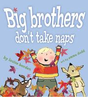 Cover art for BIG BROTHERS DON'T TAKE NAPS