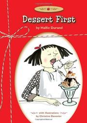 DESSERT FIRST by Hallie Durand
